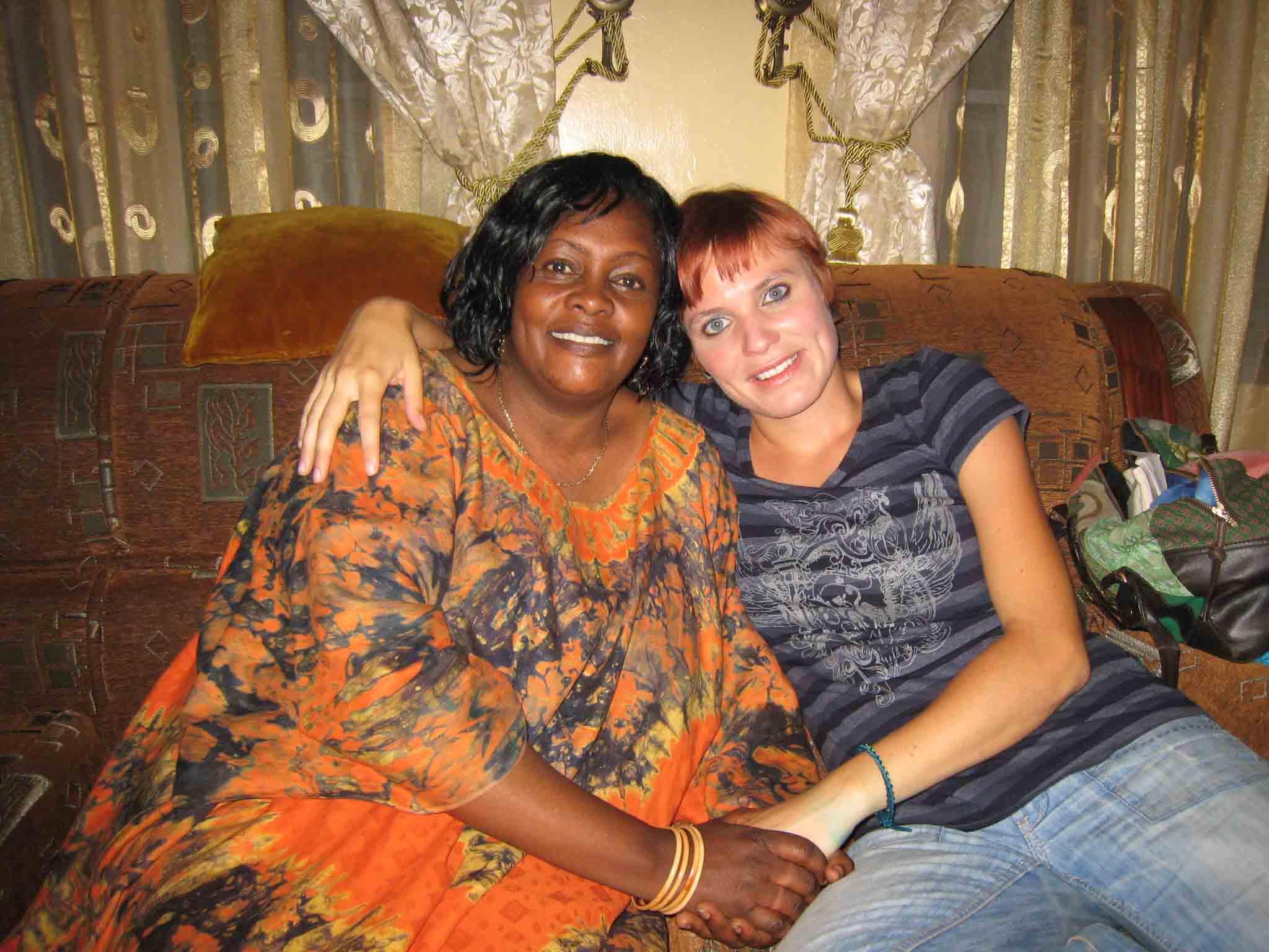 Jeanne Mwiliriza und Maria Goeth 1